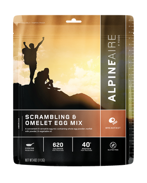 AlpineAire Scrambling & Omelet Egg Mix