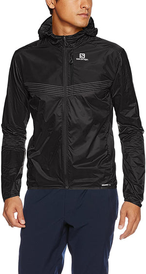 Salomon Mens Fast Wing Aero Running Jackets