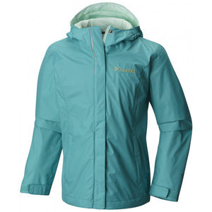Columbia Girls Arcadia Rain Jackets Small