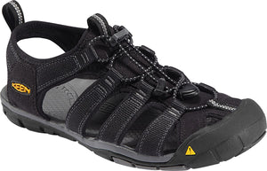 Keen Clearwater CNX Men Sandal, Water Shoe, Black/Gargoyle