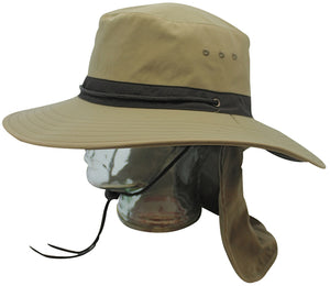 Misty Mountain Atacama Sun Hat with Tuck Away Neck Flap