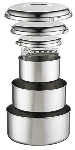 MSR Alpine 4 Stainless Steel Pot Set