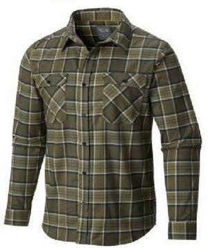 Mountain Hardwear Men's Stretchstone Long Sleeve Casual Shirt