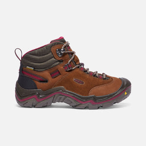 Keen Womens Laurel Mid Waterproof Leather Hiking Boots USA BUILT