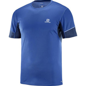 Salomon Mens Agile Short Sleeve Active Tee Shirts