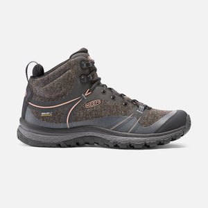 Keen Terradora Mid WP, Women's Waterproof Trail-running Shoe, Raven/Rose Dawn