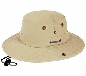 Misty Mountain Canvas Bosun Sun Hats with Snap Sides & Floating Brim