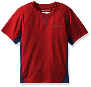 Columbia Boys Silver Ridge III Short Sleeve Athletic Shirts