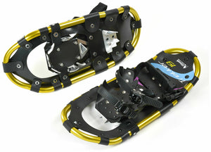 Chinook Trekker Aluminum Snowshoes with Carry Bag Sizes 19-36 Inches