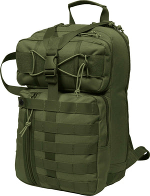 "Mil-Spex Golani Tactical Pack 17x 8 x10"" Olive Military Style"