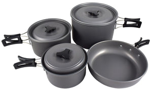 Chinook Trekker Hard Anodized 7-Piece Cookset