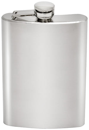 Chinook Hip Flask, Stainless Steel, 8 fl oz (240mL)