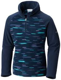 Columbia Girl's Glacial II Fleece Print Half Zip