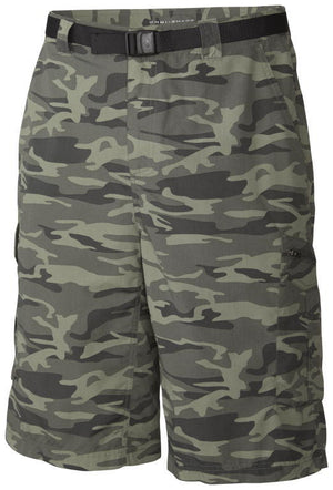 Columbia Men's Silver Ridge Printed Cargo Shorts Size:30