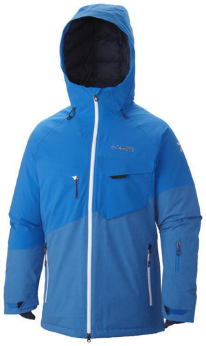 Columbia Titanium Men's First Tracks 860 TurboDown Ski Jacket - Omni heat
