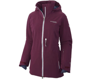 Columbia Titanium Womens Below Backcountry Waterproof Insulated Ski Jackets