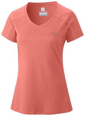 Columbia Womens Zero Rules Short Sleeve Athletic Shirts