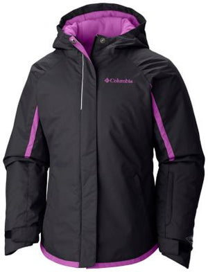 Columbia Girls Alpine Action Waterproof Insulated Ski Jackets Large