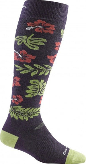 Darn Tough Women's Hibiscus Over-the-Calf Cushion Socks - 1834