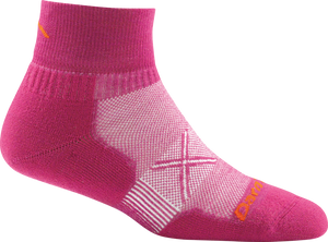 Darn Tough Women's Vertex 1/4 Sock Ultra-Light Cushion