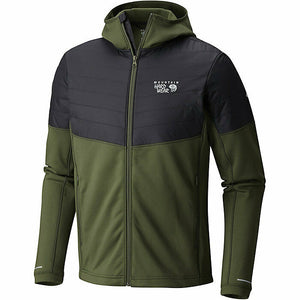 Mountain Hardwear Mens 32 Degree Insulated Hooded Fleece Jackets Small