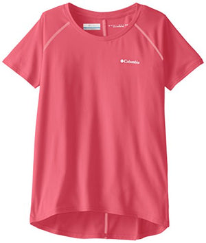 Columbia Girls Silver Ridge Short Sleeve Athletic Shirts