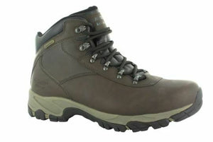 Hi-Tec Altitude V I Waterproof Hiking Boot, Mens Dark Chocolate/Black Size 12