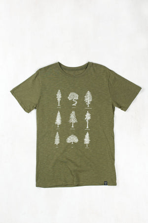 United By Blue Men's Evergreen Tee