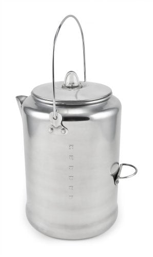 Chinook Aluminum Coffee Percolators 20 Cup