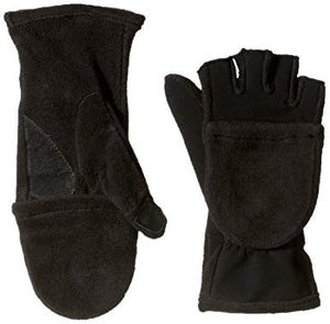 Misty Mountain Fleece Flip Mitts, XL
