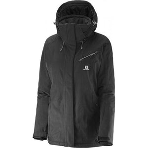 Salomon Womens Fantasy Waterproof Insulated Ski Jackets