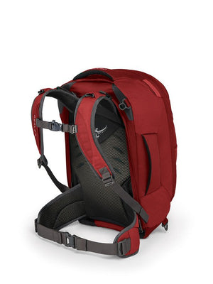 Osprey Farpoint 40L Travel Pack S/M Torso Jasper Red Carry On