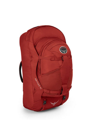 Osprey Farpoint 70 Travel and Trekking Backpack, Jasper Red S/M Torso