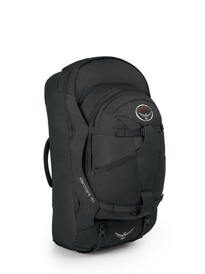 Osprey Farpoint 70 Travel and Trekking Backpack, Volcanic Grey S/M Torso
