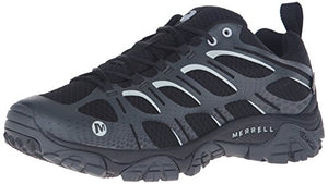 Merrell Men's Moab Edge Waterproof Hiking Shoe Black 9.5