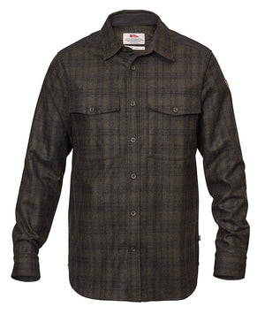 FjallRaven Men's Övik Re-Wool Shirt LS
