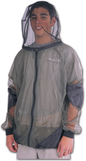 Bushline Outdoor Full Zip Bug Jacket - Big Bug Protection