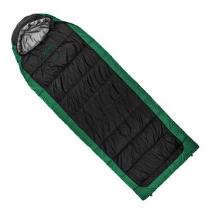 Chinook Everest Comfort II Sleeping Bag Green/Black -10°C/14°F
