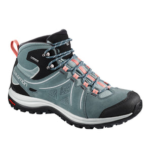Salomon Womens Ellipse 2 Mid GTX Waterproof Leather Hiking Boots