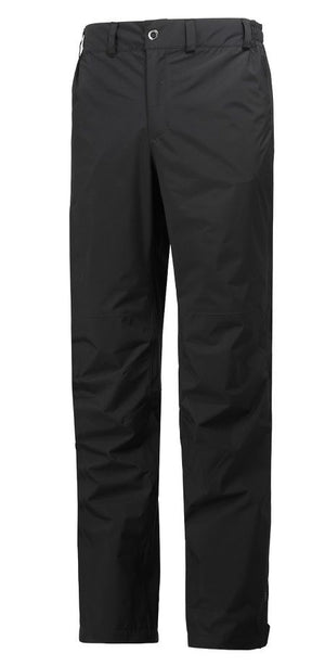 Helly Hansen Packable Pant, Womens Waterproof, Black