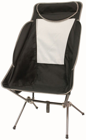 Rockwater Designs Highback Nano Recliner Chair Black