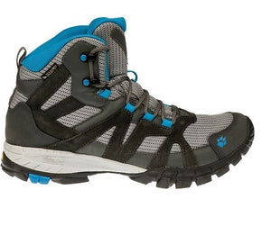 Jack Wolfskin Volcano Mid Hiking Shoe, Mens, Waterproof Texapore, Sizes 7-11