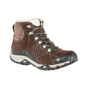 Oboz Womens Sapphire Mid BDry Waterproof Leather Hiking Boots