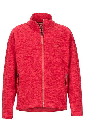 Marmot Girls Lassen Fleece Full Zip Sweaters