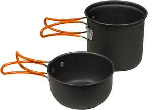 North 49 Anodized Aluminum Dual Pot Backpackers Cook Sets