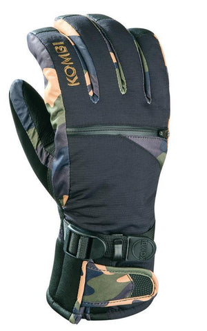 Kombi The Freerider Ski Glove, Mens -Primaloft insulation, Waterproof
