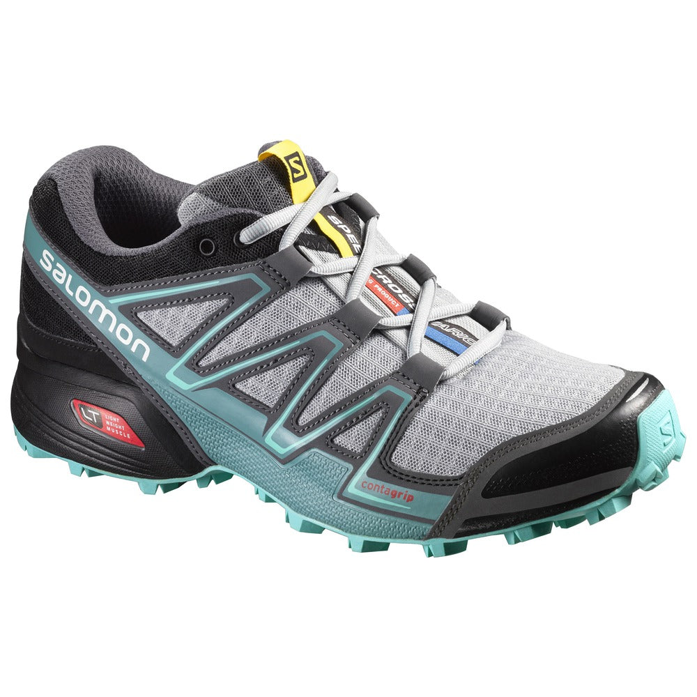 Salomon Women's Speedcross Vario, Light OnixBlackBubble Blue