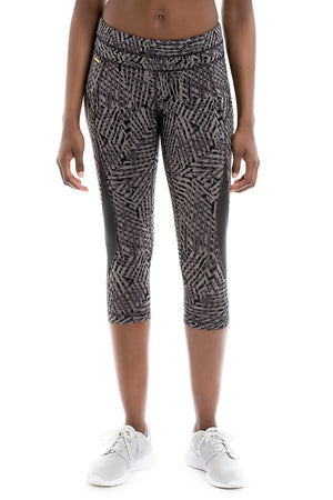 Lole Run Women's Run Capris Pattern