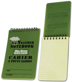 "Mil-Spex All-Weather Notebook 3"" X 5"""