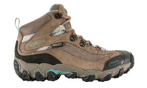 Oboz Womens Phoenix Mid BDry Waterproof Leather Hiking Boots